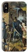 John Brown On 30 August 1856 Intercepting A Body Of Pro-slavery Men IPhone Case