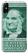 John James Audubon Postage Stamp IPhone Case