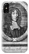 John Mayow (1640-1679) IPhone Case