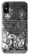 John Of Leiden (1509-1536) IPhone Case