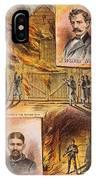 John W.booth (1835-1865) IPhone Case