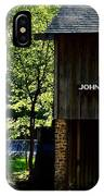 John Wesley Halls Gristmill IPhone Case
