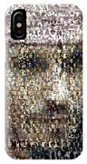Johnny Depp Jack Sparrow Mosaic IPhone Case
