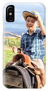 Jonah And Elijah 3 IPhone Case