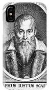 Joseph Scaliger, French Religious Scholar IPhone Case