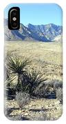 Joshua Tree And Mount Wilson IPhone Case