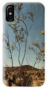 Joshua Tree Park In Bloom IPhone Case