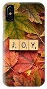 Joy-autumn IPhone Case