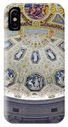 Jp Morgan Library Ornate Ceiling IPhone Case