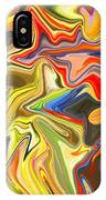 Just Abstract Viii IPhone Case
