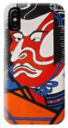 Kabuki Actor 2 IPhone Case