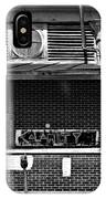Kalamity Monochrome IPhone Case