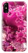 Kale Plant With Melting Snow IPhone Case