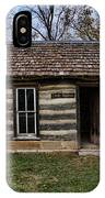 Kansas Log Cabin IPhone Case