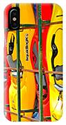 Kayaks In A Cage IPhone Case