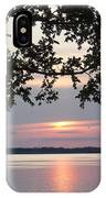 Kentucky Lake At Sunsset IPhone Case