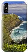 Kilauea Lighthouse Hawaii IPhone Case