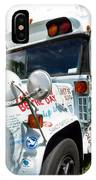 Kindness Bus 4 IPhone Case