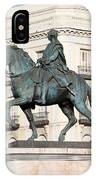 King Charles IIi Statue In Madrid IPhone Case