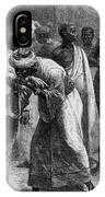 King Riouga And Samuel Baker, 1869 IPhone Case