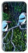 Woodland Kingfisher IPhone Case