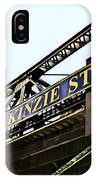 Kinzie Street Stop - Chicago IPhone Case