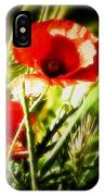 Kissed By The Setting Sun IPhone Case
