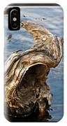 Knarled Stump In The Water IPhone Case