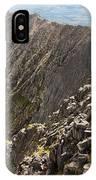 Knife Edge Mount Katahdin Baxter State Park IPhone Case