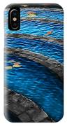 Koi Blue IPhone X Case