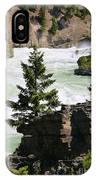 Kootenai Falls In Montana IPhone Case