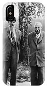 Kurchatov And Ioffe, Soviet Physicists IPhone Case