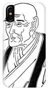 Kyokutei Bakin (1767-1848) IPhone Case