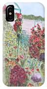 La Maison Et Le Jardin De Monet IPhone Case