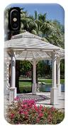 La Quinta Park Gazebo IPhone Case