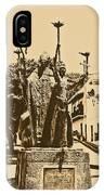 La Rogativa Sculpture Old San Juan Puerto Rico Rustic IPhone Case