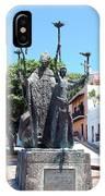 La Rogativa Sculpture Old San Juan Puerto Rico IPhone Case