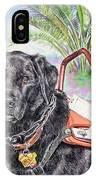 Labrador Retriever Service Dog IPhone Case