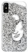 Curls IPhone Case