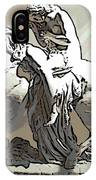 Lady Godiva Statue IPhone Case