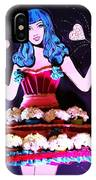 Lady In Flowers IPhone Case