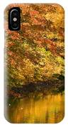 Lake And Forest In Autumn IPhone Case