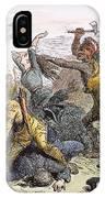 Lake George: Massacre, 1757 IPhone Case
