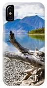 Lake Kathleen In Kluane National Park IPhone Case