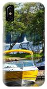 Lake Living 2 IPhone Case