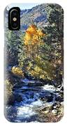 Lake Sabrina Creek IPhone Case