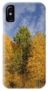 Lake Tahoe Aspen Sky IPhone Case
