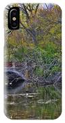 Lake Wingra Bridge IPhone Case