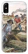 Land Clearing, C1830 IPhone Case