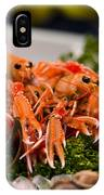 Langoustines At The Market IPhone Case
